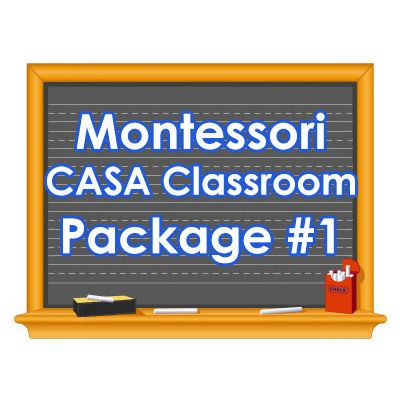 Montessori CASA Classroom Package #1