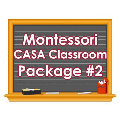 Montessori CASA Classroom Package #2
