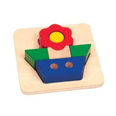Primary Puzzle - Flower