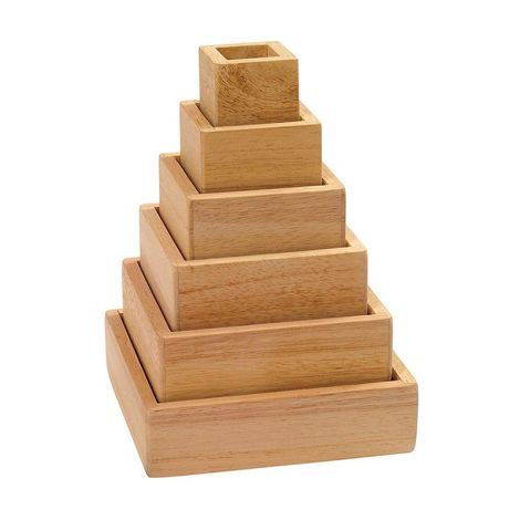 Stacking Rainbow Pyramid