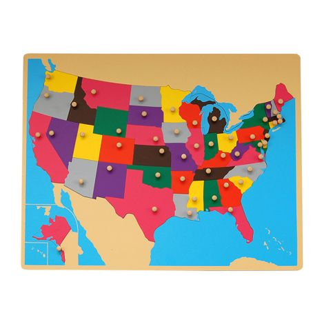 Puzzle Map Of USA