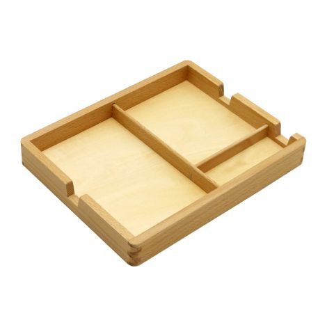 3 Part Cards Wooden Tray