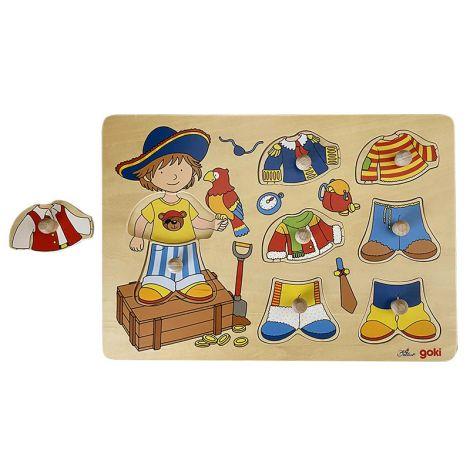 Boy Dress Up Jigsaw
