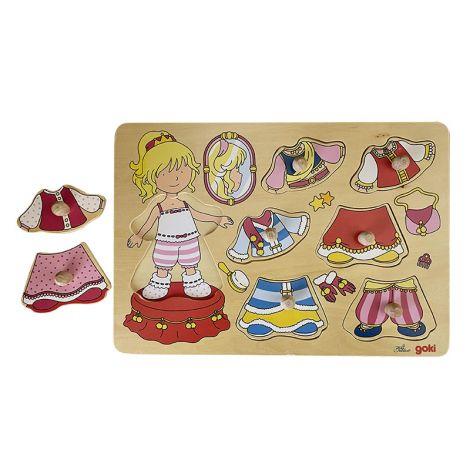 Girl Dress Up Jigsaw