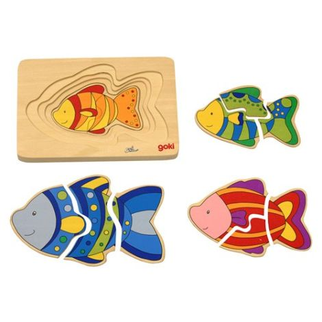 Fish Family Puzzle