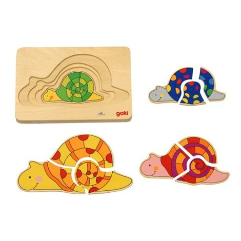 Snail Family Puzzle