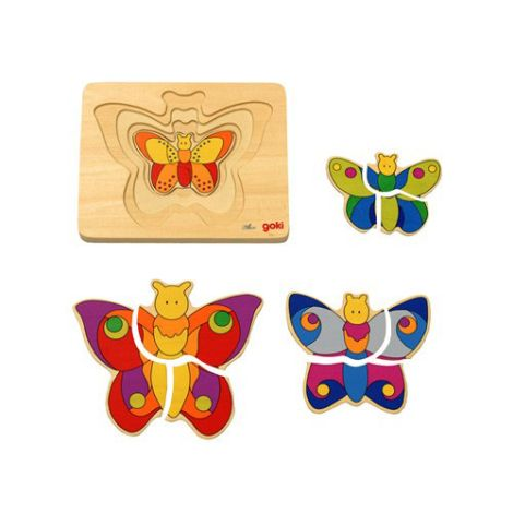 Butterfly Family Puzzle