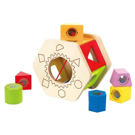Shake And Match Shape Sorter