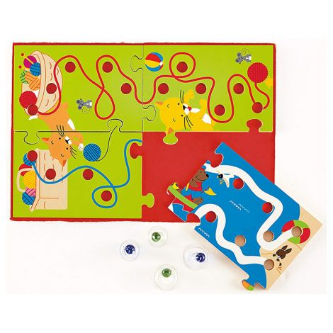 Scribble Toddler Wooden Puzzle Maze