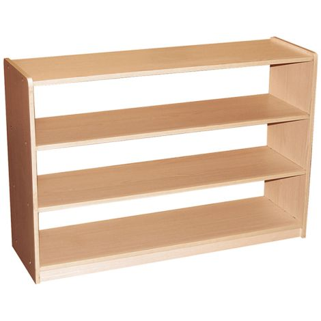 "Open 3 Shelf Storage Unit - Adjustable - 48""L x 30""H"