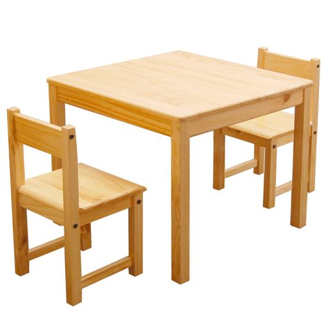 Aspen Table & Chair Set - Natural