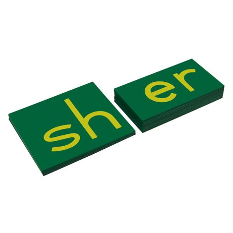 Lower Case Double Sandpaper Letters - Print