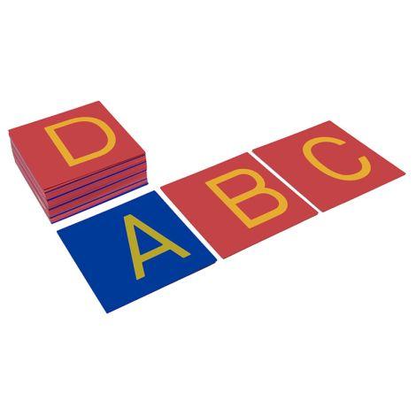 Capital Case Sandpaper Letters - Print