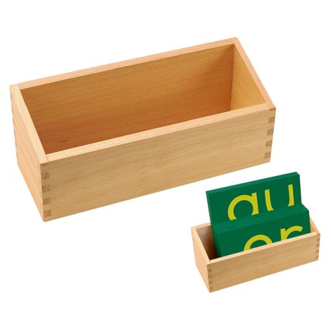Box For Double Sandpaper Letters