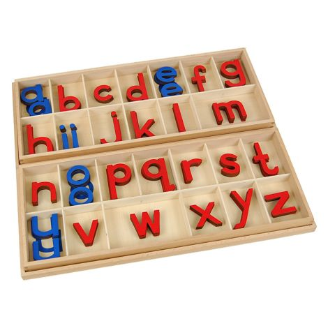 Large Movable Alphabets With Boxes