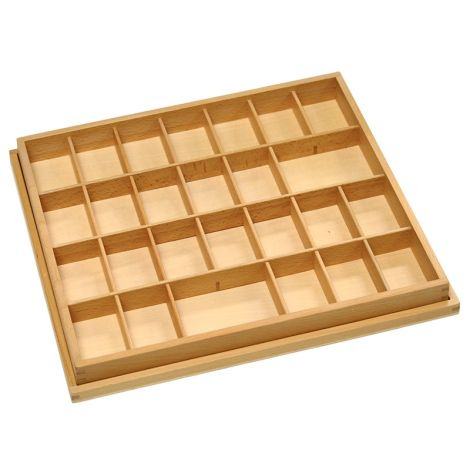 Box For Lowercase Small Movable Alphabet