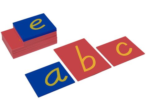 Lower Case Sandpaper Letters - D Nealian Style