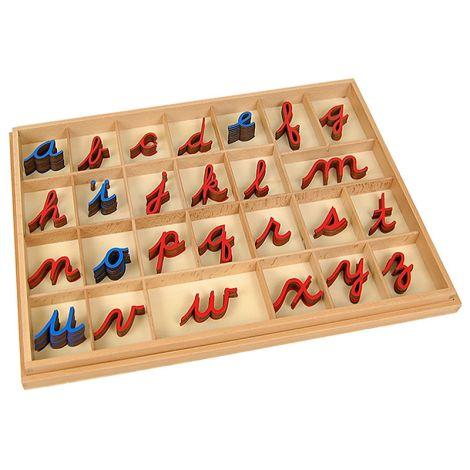 Cursive Movable Alphabet