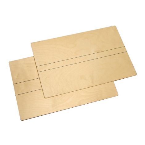 Wooden Boards (2 pcs)