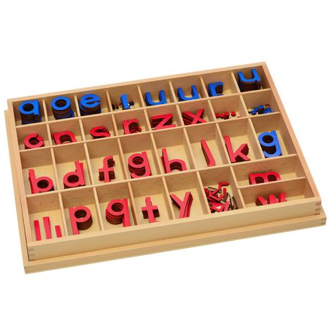 Chinese Syllables (Pinyin) Movable Alphabets With Box