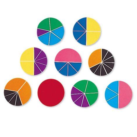 Rainbow Fraction Deluxe Circles