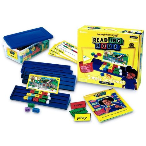 Reading Rods Simple Sentences Kit