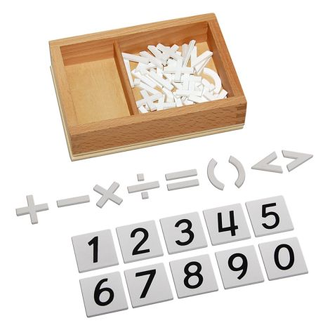 Arithmetic Signs Box
