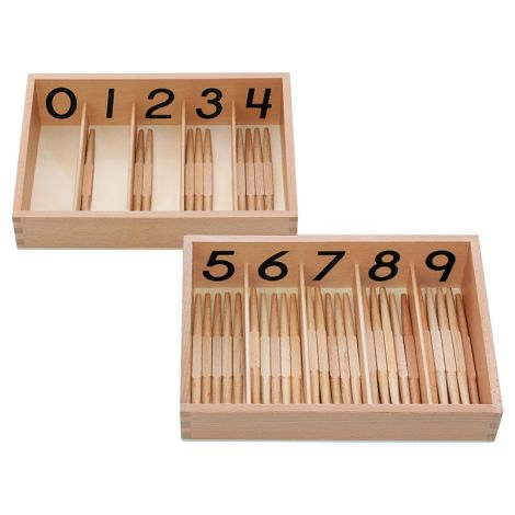 Spindle Box With 45 Spindles