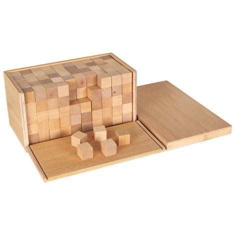 Volume Box With 250 Cubes