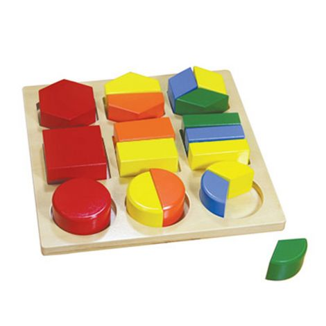 Assembly Geometric Shape Tray
