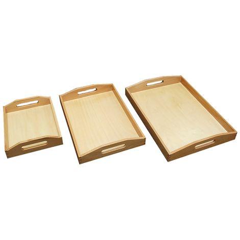 3 Individual Trays