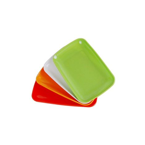 Individual Plastic Tray (Extra Small) - Assorted Colorss