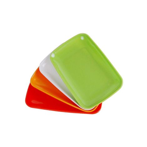 Individual Plastic Tray (Small) - Assorted Color