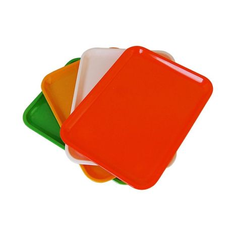 Individual Plastic Tray (Medium) - Assorted Color