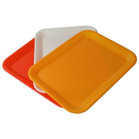 Individual Plastic Tray (Large) - Assorted Color