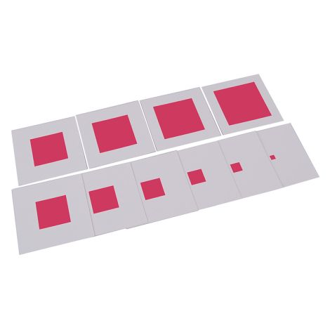 Pink Tower Control Chart - PP Plastic
