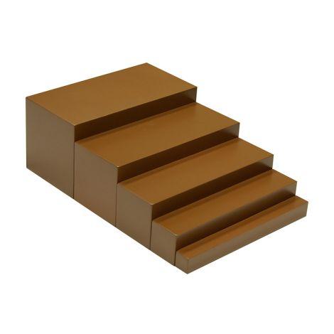 Toddler Brown Stairs
