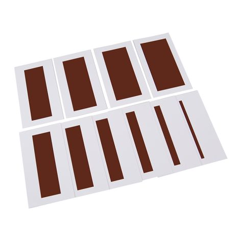 Brown Stairs Control Chart - PP Plastic