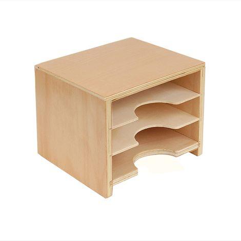 Geometric Card Cabinet